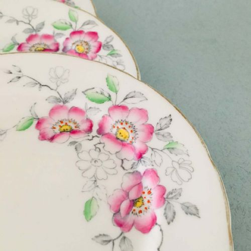 Old Royal - Bone China - Tea Side Plate  x  4 - 1940s